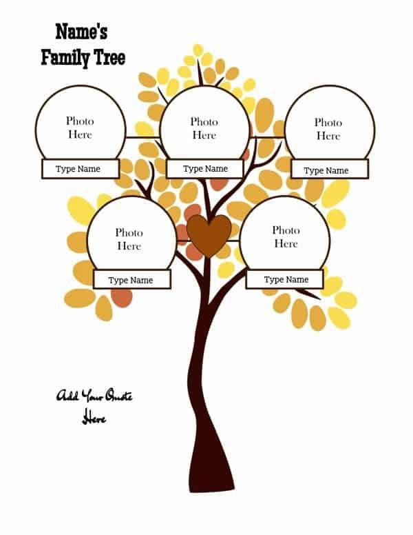 Free family tree