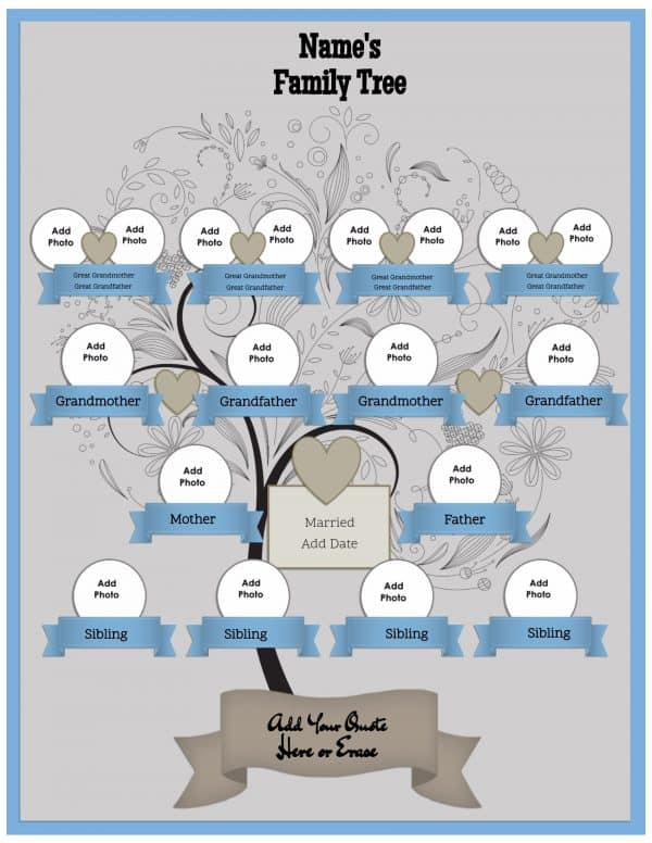 Generate a family tree