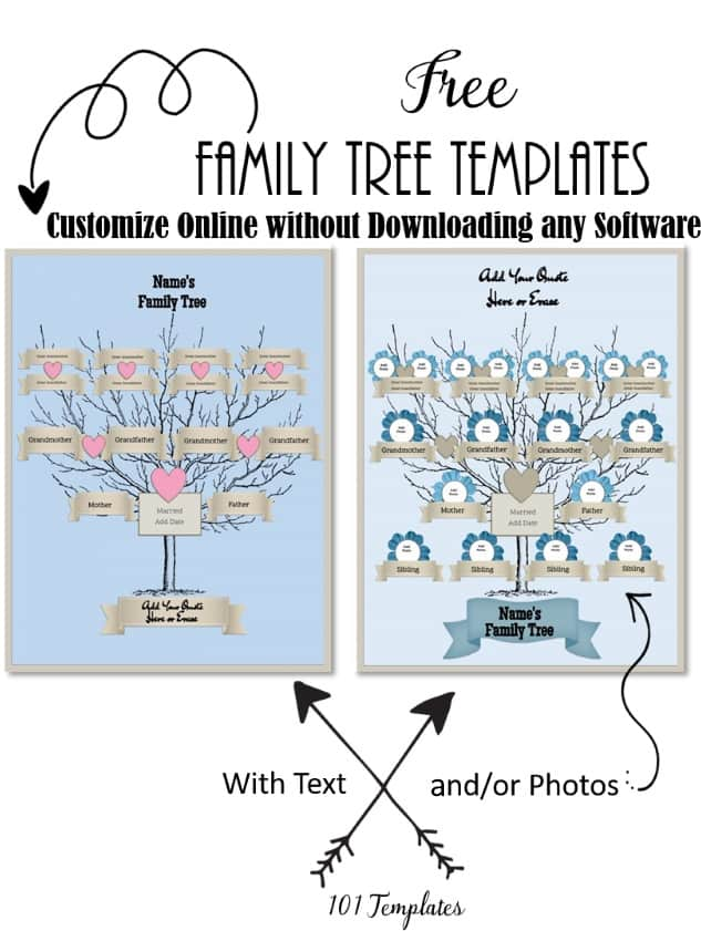 It's just a graphic of Amazing Printable Family Tree Maker